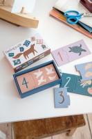 Puzzle mit Tieren und Zahlen Seven Seas/Daydream von 1 - 10 zum Zaehlen von sebra