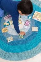 Puzzle mit Tieren und Zahlen von 1 - 10 zum Zaehlen von sebra