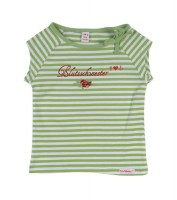 Romantic U-Boetchen green/ vanilla-Stripe