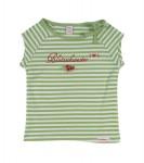Romantic U-Boetchen green/ vanilla-Stripe