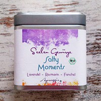 "Salty Moments ""Lavendel-Rosmarin-Fenchel"" Bio, 150 g Dose"
