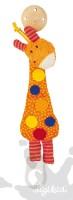 Schnullerkette Giraffe