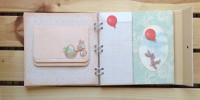 Scrapbook Album von Belle & Boo