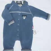 Sigikid Fleece-Overall Active Bears blau