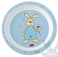 Sigikid Melamin-Teller Semmel Bunny