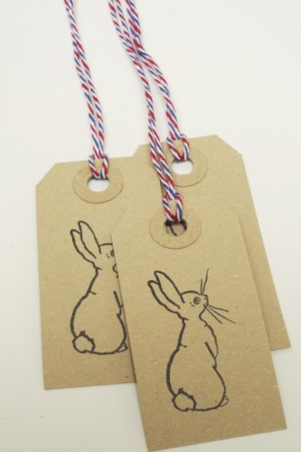 Small Boo Swing Tags