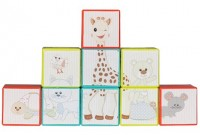 Sophie the giraffe Stackable puzzle cubes