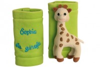 Sophie the giraffe belt covers