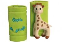 Sophie the giraffe belt covers