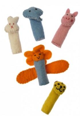 Filz-Fingerpuppen-Set