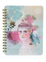 Sun Chaser Spiral Notebook by Papaya!