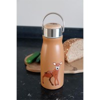 Thermosflasche FLASK Baby Deer aus Edelstahl, 300ML double wall H19,2 the zoo