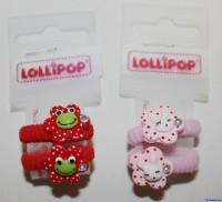Tierische Haargummis von Lollipop