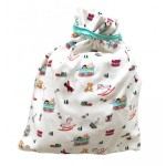 Toy Box Baby Hooded Towel & Drawstring Bag