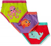 Training Pants Girls aus Bio-Baumwolle (3-4 J.) - Ocean Friends von Zoocchini