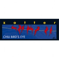 Trinkschokolade Birds Eye Chili, gegossen