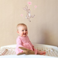 Wand Sticker von Belle & Boo mit Motiv Boo and the Dandelion wall sticker