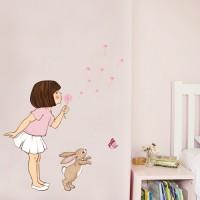 Wand Sticker von Belle & Boo mit Motiv Dandelion wall sticker
