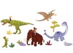 Wand Sticker von Belle & Boo mit Motiv Dino Ride