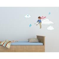 Wand Sticker von Belle & Boo mit Motiv My Paper Plane