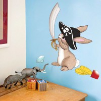 Wand Sticker von Belle & Boo mit Motiv Pirate Boo wall sticker