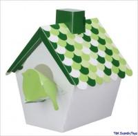 Wandlampe Vogelhaus grün von Kids Concept