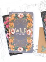 Wild at Heart Sketch & Scribble Set Notizbuch von Papaya