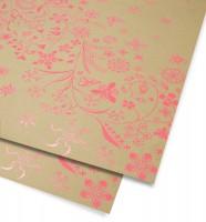 Wildflower Pink Gift Wrap Geschenkpapier