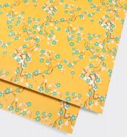 Yellow Blossom Gift Wrap Geschenkpapier