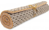 Yoga Mat Jute Check von Holistic Silk