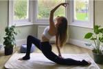 Yoga Mat Jute Check
