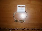 bracelet gold mit beige cord