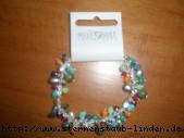 bracelet silver & bunt