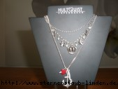 necklace mit Herz, Anker, Kreuz und Krone