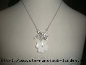 necklace white Blume & Vogel