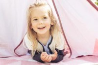 sebra Bezauberndes Spielzelt Tipi Pastell Girl