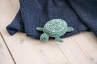 sebra Häkel-Rassel, Triton die Schildkröte, seaweed gree