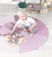sebra Holzpuzzle ABC in rosa
