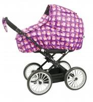 sebra Regenschutz für Kinderwagen mit Eulen-Motiv