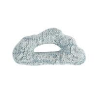 sebra Strick-Rassel Wolke wolkenblau
