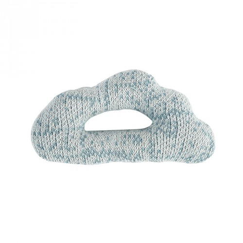 Strick-Rassel Wolke wolkenblau