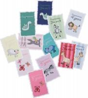 sebra nostalgische Geburtstagskarten mit Umschlag