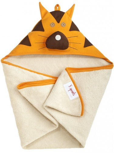 Kapuzen-Handtuch Tiger